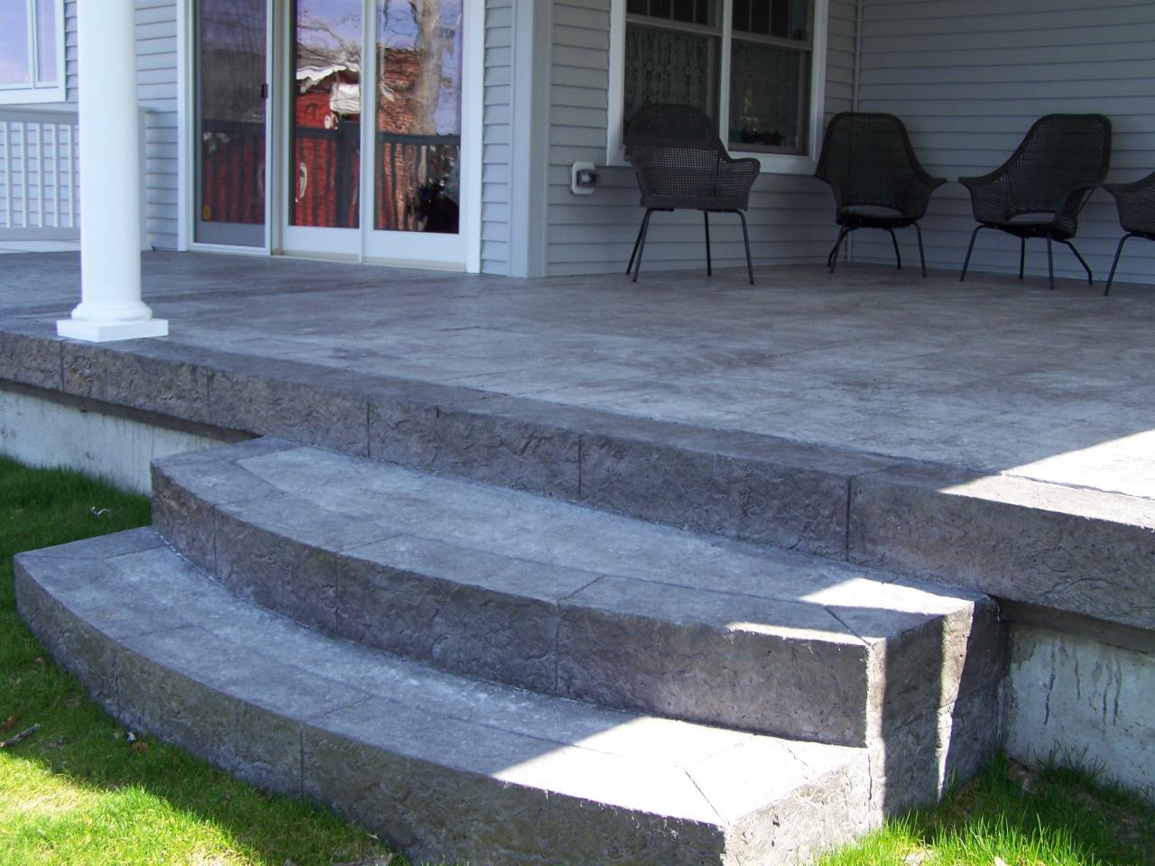 stamped concrete patio with stairs. Brilliant Patio Stamped Concrete Steps 29 To Stamped Concrete Patio With Stairs G